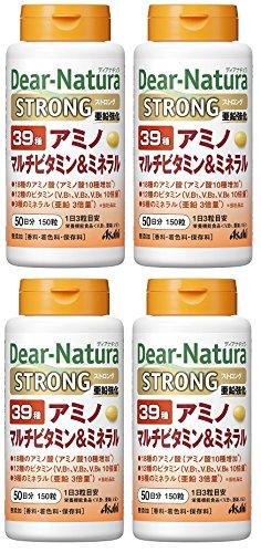 【まとめ買い】ディアナチュラ ストロング39アミノマルチビタミン&ミネラル150粒×4個