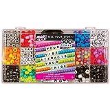 Fashion Angels F3541 Tell Your Story Alphabet Bead Case (12354) Bracelet Making Kit, 500+ Bead Set
