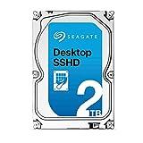 Seagate シーゲイト 内蔵ハードディスク Desktop SSHD (ハイブリッド) 2TB ( 3.5 インチ / NCQ機能搭載SATA 6Gb/秒 / 7200rpm / 8GBMLC 64MB / 5年保証 )正規輸入品 ST2000DX001