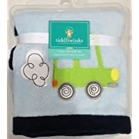 Tiddlwinks Embroidered Car Baby Blanket - Come Ride with Me by KidsLine