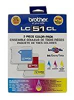 新しい純正Brother lc51/ 51/ 51CカラーインクカートリッジLC 51切れません; dcp-350Fast Shipping 。