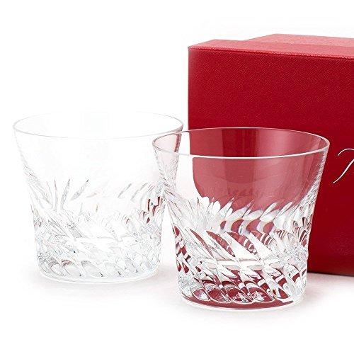 【名入れ対応可】バカラ Baccarat グラス グローリア タンブラー ペアセット ロックグラス コップ フランス製 クリスタルガラス GLORIA 2809158 (名入れなし)