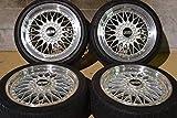 【中古】BBS スーパーRS 8J +35 9J +37 セルシオ 鍛造 18in タイヤホイール【Y0520Z06HP】