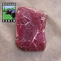 モーガン牧場ビーフ アメリカ産牛肉 熟成 高品質 ランプステーキ アメリカンビーフ ホルモン剤や抗生物質不使用 180g x 3枚