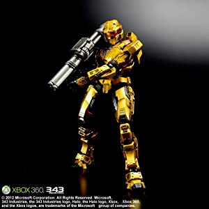 Halo: Combat Evolved PLAY ARTS改 Spartan Mark V Gold 【Envisioned by Square Enix Products】【販路限定商品】(PVC塗装済みアクションフィギュア)