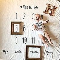 KLUMA 赤ちゃん 出産祝い 記念写真 小道具 写真の小道具 柔らかい レーストリム 寝相アート 写真背景