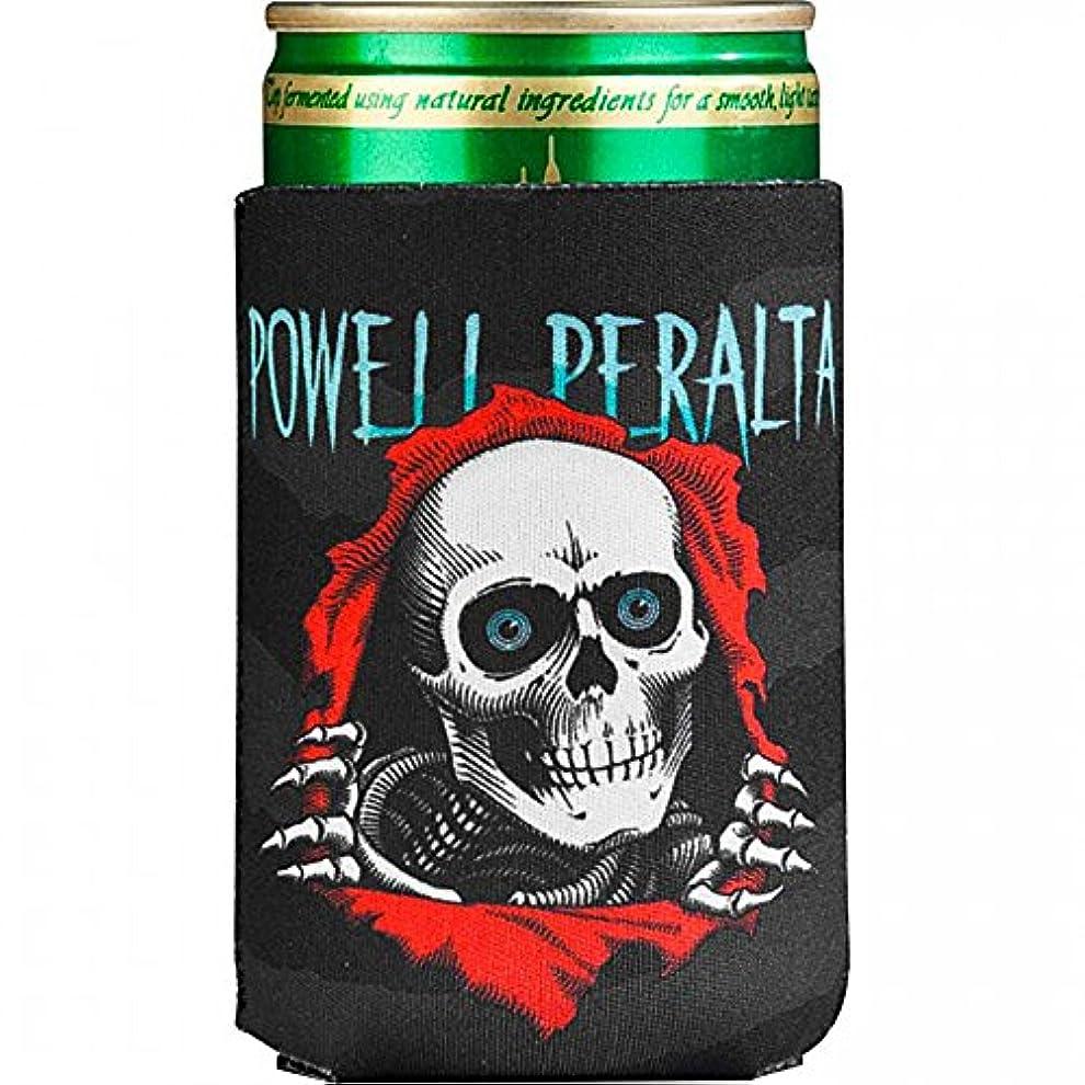 サーカス大気曖昧な(パウエル ペラルタ)Powell Peralta Skateboards 缶クージー Ripper Coozie Black アウトドア(ブラック)