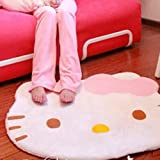 Cartoon Hello Kitty Non-Slip Door Mats Children Area Rugs Room Bed Carpet - Super Soft Cute Cartoon