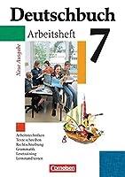 Deutschbuch Gymnasium 7. Schuljahr. Arbeitsheft mit Loesungen. Allgemeine Ausgabe. Neubearbeitung: Sprach- und Lesebuch. Erweiterte Ausgabe