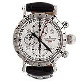 クロノスイスTimemaster GMTクロノグラフch-7533-gst-si swiss-automatic Mens Watch (認定pre-owned)
