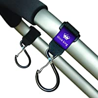 Think King Clippy Hook for Stroller, Wheelchair, Rollator, Walker, Black by Think King [並行輸入品]
