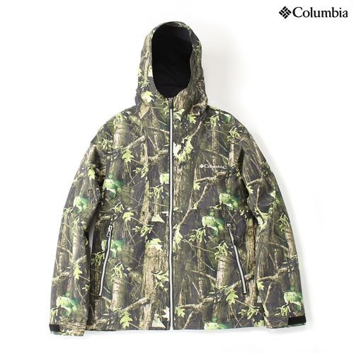 コロンビア ヘイゼンハンティングパターンドジャケット