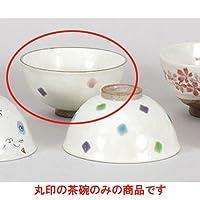夫婦茶碗 夢彩茶碗 小 [11.5 x 6cm] 土物 料亭 旅館 和食器 飲食店 業務用