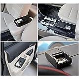 スライドカバー式車内用小物ボックス 両面テープでどこでも取り付け可能 携帯電話や小銭などの収納に FMTCARBOX