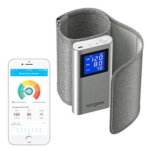 血圧計 上腕式 スマート 血圧計 改良された デジタル アプリ...