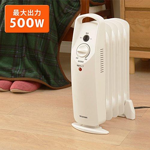 アイリスオーヤマ ミニ オイルヒーター POH-505K-W
