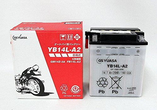 開放式バッテリー YB14L-A2