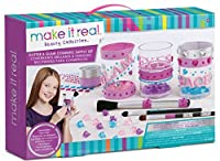 Glitter and Glam Cosmetic Supply Set Craft Kit for Girls [並行輸入品]