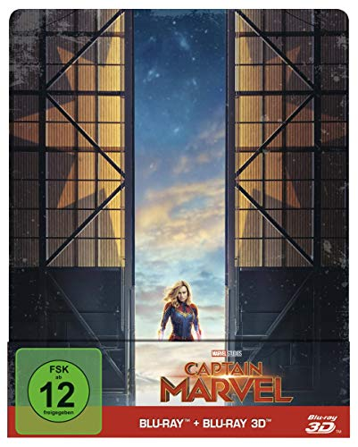 Captain Marvel: Blu-ray 3D + 2D   Steelbook