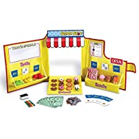 Learning Resources Pretend & Play Snack Shop Play Food Set [並行輸入品]