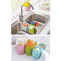 スポンジホルダー、キッチンシンクキャディブラシSoap Dishwashing Liquid Drainer Rack
