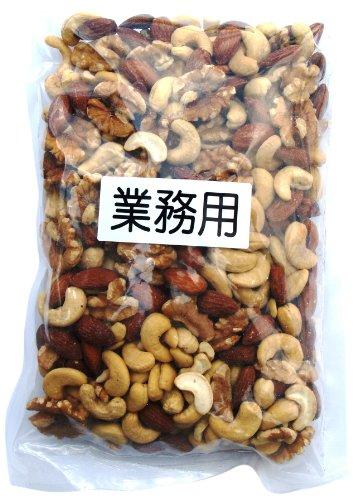 椿屋 ミックスナッツ(カシューナッツ・アーモンド・くるみ3種) 500g -