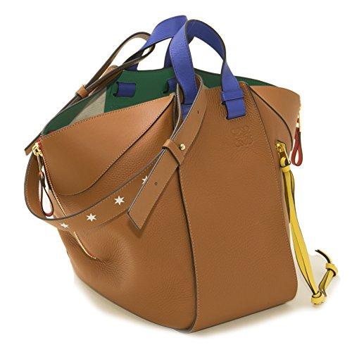 (ロエベ) LOEWE バッグ ハンモック スターズバッグ HANMMOCK STARS BAG 399.41.N27 2530 TAN レディース [並行輸入品]