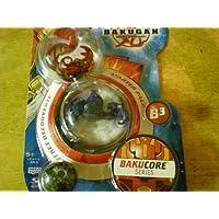 Bakugan Bakucoreスターターパック(レッドAbisomega、ブルーVerias、スモークグレーMysteryボール)