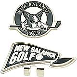 ニューバランス New Balance ラウンド小物 METRO フラッグ×ボストンテリアクリップマーカー 012-7984502 ブラック 010