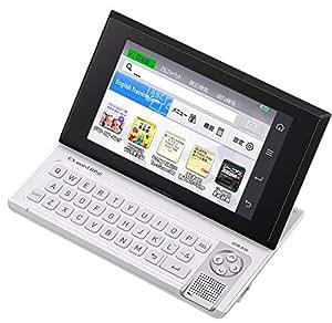 カシオ デジタル英会話学習機 EX-word RISE XDR-A10WE ホワイト コンテンツ40