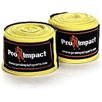 Pro Impactボクシング/MMA Handwraps 180 cm伸縮1ペアイエロー