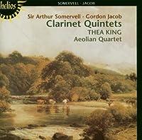 Somervell / Jacob: Quintets for Clarinet (2002-05-03)