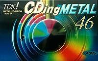 TDK メタルテープ 46分 ノイズ少なくCD録音に強い! CDM-46K