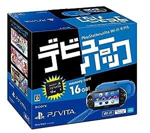 PlayStation Vita デビューパック Wi-Fiモデル ブルー/ブラック