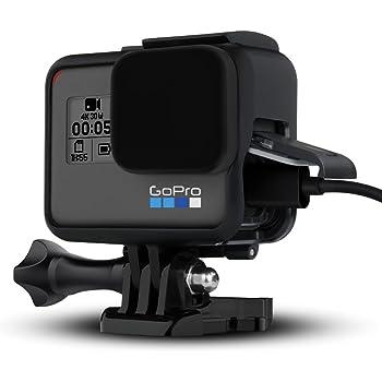 【Taisioner】GoPro HERO 5/6 / 7 Black 用 保護フレーム+シリコンレンズカバー 第二世代 スポーツカメラアクセサリー ブラック (黒)