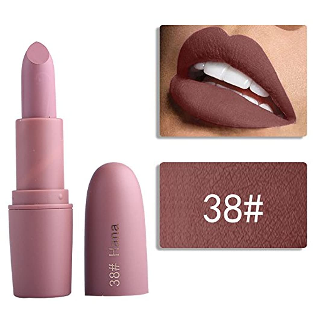 振りかけるサーフィン削るMiss Rose Nude Lipstick 22 colors Waterproof Vampire Brown Beauty Baby Lips Batom Matte lipstick Makeup Tats Eugenie...