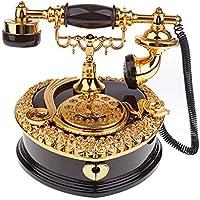 Baoblaze 古典的な 電話模型 オルゴール 音楽ボックス デスクトップ 置物 ジュエリーボックス 結婚式 装飾