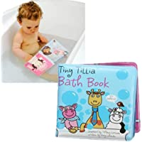 Baby Shower Bath Book Waterproof Story Book Educational Bath Toy by Raknong