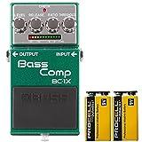 BOSS コンパクトエフェクター インテリジェントなマルチバンド・コンプレッサー。 +信頼の9Vアルカリ電池PROCELL 2個付き BC-1X(Bass Comp)