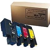 NEC PR-L5600C 4色セット増量版【互換トナーカートリッジ】重合トナーパウダー 印刷枚数:ブラック2000枚 カラー1400枚 対応機種:NEC MultiWriter 5600C / 5650C / 5650F【ヨコハマトナ-】