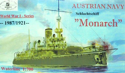 1/700 オーストリア海軍海防戦艦 モナーク