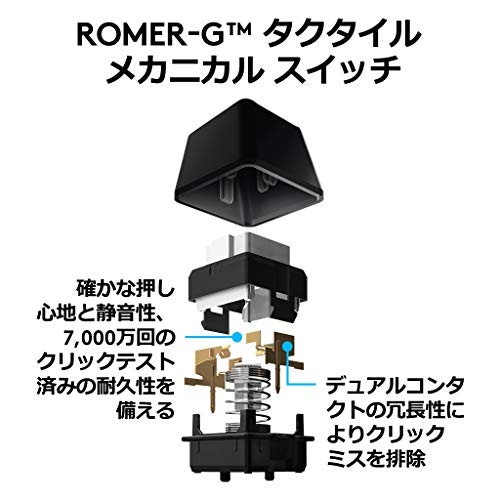 『Logicool G ゲーミングキーボード G910r ブラック メカニカルキーボード タクタイル 日本語配列 RGB パームレスト G910 Spectrum 国内正規品 2年間メーカー保証』の3枚目の画像