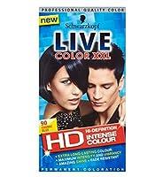 Schwarzkopf LIVE Color XXL HD 90 Cosmic Blue Permanent Blue Hair Dye - シュワルツコフライブカラーXxl Hd 90宇宙の青い永久青い髪の染料 (Schwarzkopf) [並行輸入品]