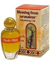 ミルラ – BlessingからエルサレムAnointingオイル – 10 ml ( .34 FLオンス) byベツレヘムギフトTM