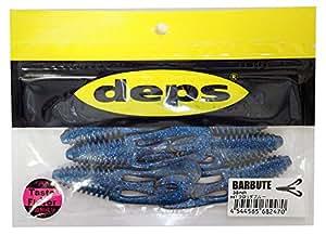 デプス(deps) ワーム バルビュータ 3.5インチ フロリダブルー #47 ルアー
