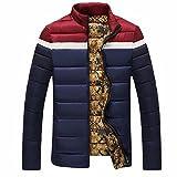 (メイク トゥ ビー) Make 2 Be メンズ 中綿入り ジャケット コート アウトドア バイクウエア 防寒 KB51(21.DarkBlue_L)