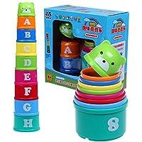 Linshop 楽しい折りたたみ音楽教育玩具カップのセット