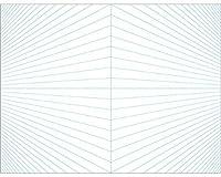 アーテック 二点透視シート 13142 A4 10枚組