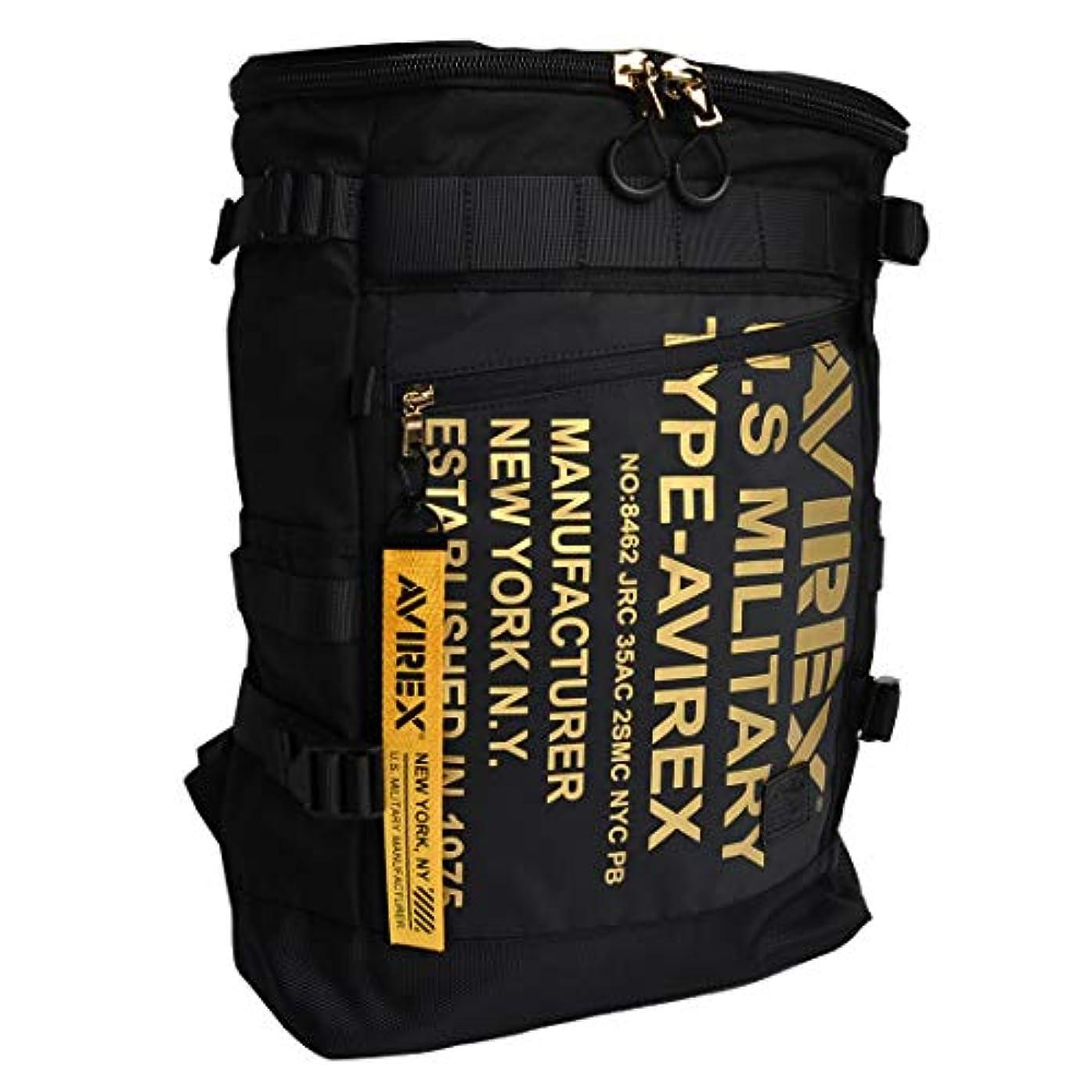 構造扇動評判[アヴィレックス] AVIREX リュック メンズ アビレックス 大容量 防水 A4 20L リュックサック デイパック スクエア型 スクエアバッグ バックパック