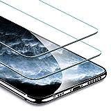 ESR iPhone 11 Pro/iPhone X/iPhone XS ガラスフィルム 【旭硝子製5倍強化 2枚セット】 アイフォン 11 Pro/Xs/X 液晶保護フィルムフィルム 5.8インチ 業界最高硬度9H / 高光透過率 / 3D Touch/飛散防止/指紋防止